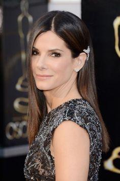 Sandra Bullock 2013 Oscars Hairstyle