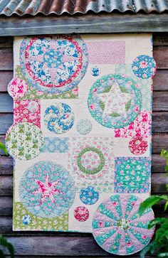 Tilda Circus 'Spin' Quilt by Wife-made