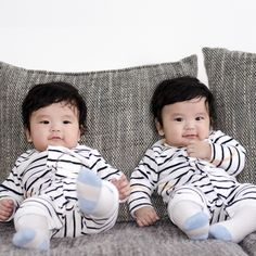 Twin baby names that work in perfect harmony Twin Baby Names, Twin Baby Boys, Twin Mom, Baby Kids, Fun Baby, Chinese Babies, Korean Babies, Asian Babies, Cute Twins
