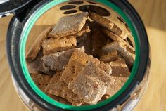 Dog biscuits! Healthy! Carrots and cinnamon are known to kill or prevent worms, fleas, and mange!