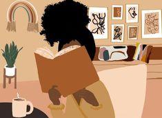 Art Painting, Lovers Art, Illustration Art Girl, Illustration, Black Girl Cartoon, Black Art Painting, Art Girl, Black Girl Art, Art Matters