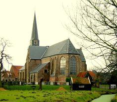Geervliet - De Nederlands Hervormde Kerk  (Rijksmonument).