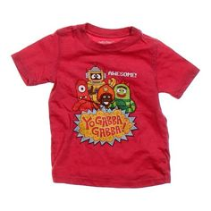 For sale: Yo Gabba Gabba Graphic Tee on Swap.com online consignment store