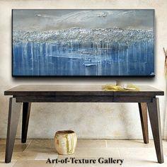 60 x 30 Large Custom Original Abstract Heavy by artoftexture
