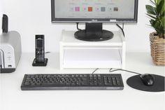 Ikea Galant Schreibtisch Monitorständer mit DIN A4-Fach