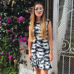 Disfrutando del sol en Lima con 🌴🌴🌴 en mi vestido #ootd
