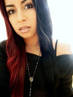 black and two tone hair - Google Search