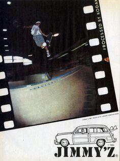 Jimmy´z ad - 1989