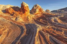 Sandstone at Sunrise by seaver1