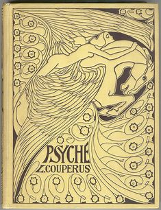 Cover for 'Psyche' by Louis Couperus Artist: Jan Toorop, Completion Date: 1898 - Art Nouveau (Modern)