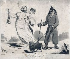 Directoire fashion caricature 1797 - Incroyables et Merveilleuses — Wikipédia