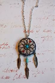 how to make dream catchers necklace - Google Search