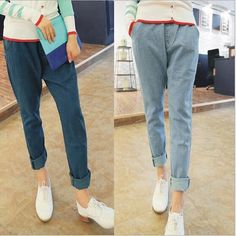 denim difference length jean pant - Google Search