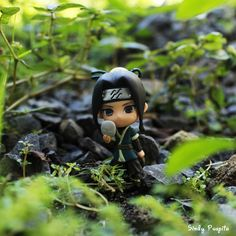 what do you think about my pic ? #toyphotography #anime #haku #naruto #figure #miniatur #green #photography #nicepic #canon