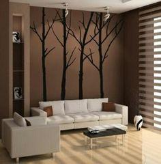 Salones y comedorescambian como de la noche al día con un vinilo decorativo, escaleras, o pasillos ganan protagonismo con los vinilos decorativos.