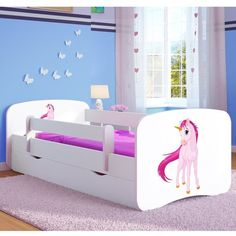2dede1dacbf Harriet Bee Annabella Cabin Bed with Mattress and Drawer