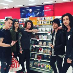 Ok but I wish I can go to a store and find band members like this.