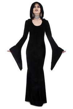 Hemlock Hooded Maxi Dress  B   994fade1e