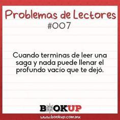 Cuentanos ¿qué saga te ha hecho eso? #problemasdelectores #bookupmx #booklover