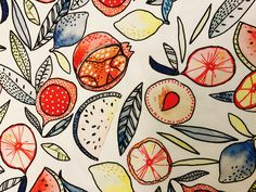 COTONS imprimés #tissu #fabric #coton #cotton #fruits #mode #fashion #paris #sacrescoupons #handmade