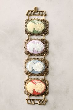 Chromatic Cameo Bracelet #anthropologie