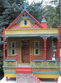 Bliss inspired reproduction dollhouse