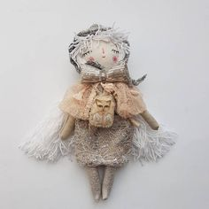 Boho Pixie 15 Doll Pastel Doll Handmde Doll Heirloom #thedollsunique #dolls #handmade