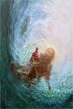 This picture of Jesus has two meanings in relation to the novel. Christianity is the second religion Pi became a part of, it also represents god saving Pi from the ocean Art Prophétique, Mural Art, Image Jesus, Jesus Christus, Prophetic Art, Biblical Art, Biblical Tattoos, Jesus Pictures, Pics Of Jesus