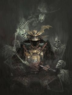 """""""Generally speaking, the Way of the Warrior is resolute acceptance of death."""" - Miyamoto Musashi"""