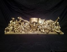 "Check out new work on my @Behance portfolio: ""Gold mask sculpture"" http://be.net/gallery/57048177/Gold-mask-sculpture"