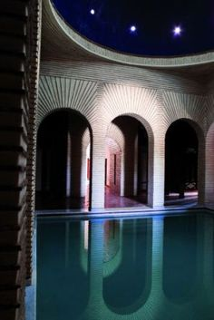 The Selman Hotel, Marrakech designed by Architect Jacques Garcia :: spa