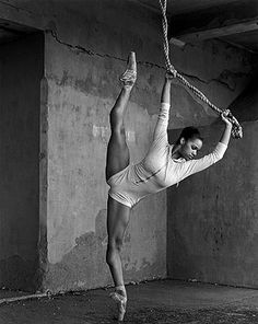 Misty Copeland - first black solo dancer for American Ballet Theatre...total bad ass