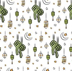 Wallpaper Ramadhan, Eid Card Designs, Eid Stickers, Eid Mubarak Greetings, Batik Pattern, Kids Wallpaper, All Pictures, Ramadan, Vector Pattern