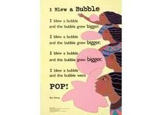 Poems, Bubbles, Poetry, Poem
