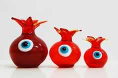 Pomegranate/Greek Eye Pomegranates, Greek, Shapes, Ink, Christmas Ornaments, Holiday Decor, Color, Ideas, Home Decor