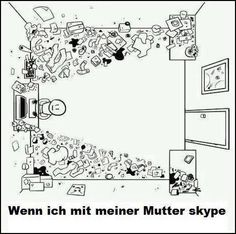 """Habt ihr gewusst, dass """"skypen"""" ein Verb im Deutschen ist? :)"""