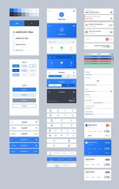 App Ui Design, Interface Design, Branding Design, Ui Kit, Tabs Ui, Ui Components, Ui Patterns, Website Design Layout, Simple App