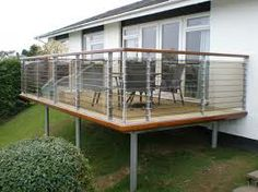 1000 images about modern balcony designs on pinterest for Terrace tubular design