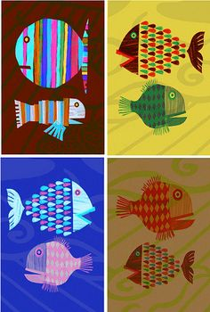Fishes by aeneastudio, via Flickr