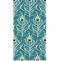 938352 3 Ply Peacock Feathers Dinner Napkins or Guest Towel