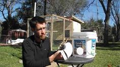 "Image result for pvc ""chicken feeder"""