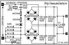 Soft Start Circuit Schematic Ac Circuit, Circuit Diagram, Circuit Board, Diy Electronics, Electronics Projects, Inverter Welding Machine, Power Supply Circuit, Led Projects, Electronic Schematics