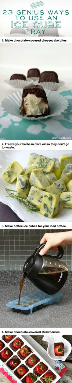 Genius Way To Use An Ice Cube Tray