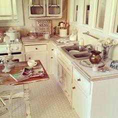 My miniature kitchen 1:12