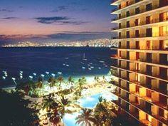 Hyatt Regency Acapulco...had one of these left side corner rooms...it was spectacular!