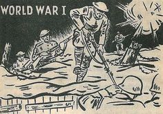 WWI 9 MILLION combatants died, only the 6th largest in fatalities as far as wars go.