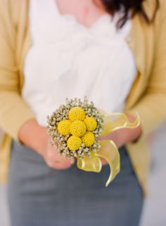 cute petite bridesmaid bouquet