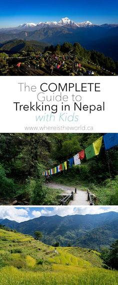 Everything you need to know about trekking in Nepal with kids | Trekking with Kids | Annapurna Region | Poon Hill Trek | Family Travel | Travel with kids |