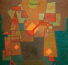 Afbeelding titel: Paul Klee - disput,