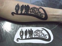 artic monkeys tattoo